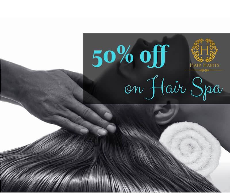 hair spa Nagpur offer